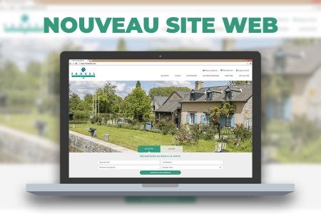Mise en ligne nouveau Site internet Fauvel immobilier